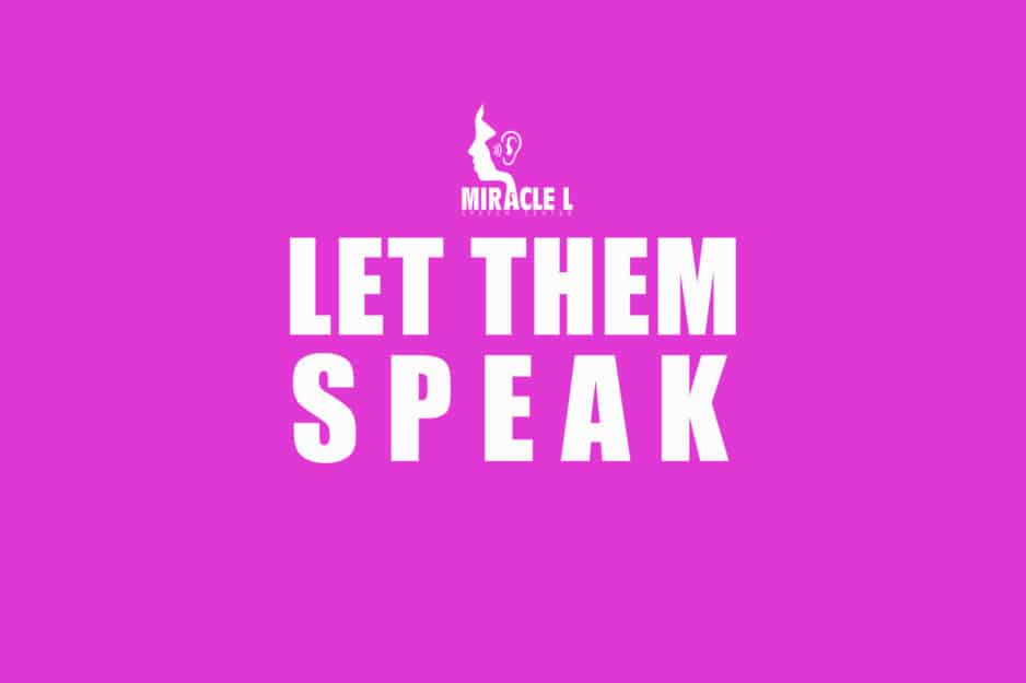 Give an opportunity for your child to speak
