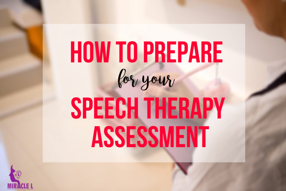 A must read before attending a speech assessment
