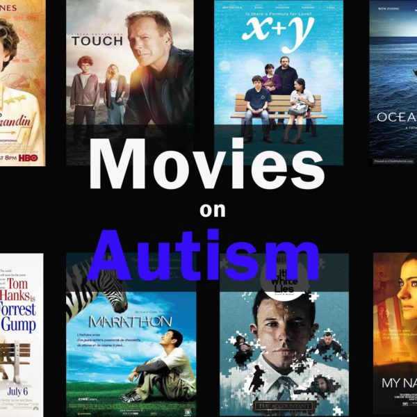 there are 6 movie posters on autism