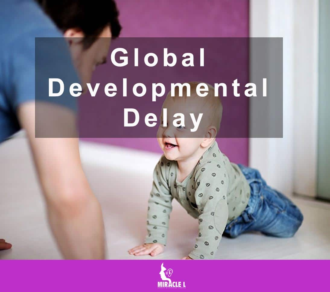 child is crawling and not able to walk due to developmental delay